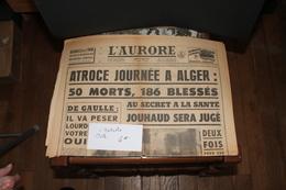 L'AURORE 1962 - Old Paper