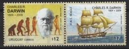 Uruguay (2009) - Set -  /  Darwin - Archeologie - Ships - Bateaux - Barcos - Schiffe - Boten