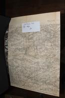 CARTE ROUTIERE PALLAU SE TYPE 1889 - Cartes Routières