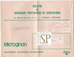 Portugal 1979 Franquia Mecânica Mem Martins Ema Mechanical Franchise Schering Lusitana Medicine Ginecology Médicaments - Médecine