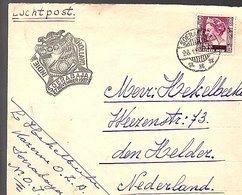 1937 Soerabaja Kazerne O.Z.A. > Hekelbeeke Weezenstraat 73 Den HeLder (272) - Niederländisch-Indien