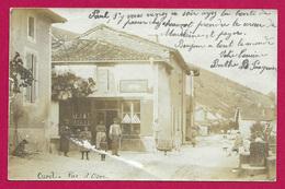 Carte Photo Curel - Rue D'Osne Le Val - Autres Communes