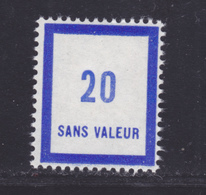 FRANCE FICTIF N° F131 ** MNH Timbre Neuf Sans Charnière, TB - Fictifs