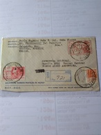 México Postal Stationery Cover Used In 1976 Cattle AND Meat With Additional Stamps From Cuautla Morelos Registered - Mexico