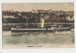 AI35 Shipping - Brighton Queen At Boulogne Sur Mer - Steamers