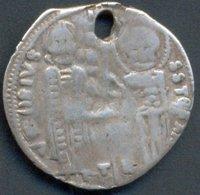 VENEZIA , IACOPO TIEPOLO , GROSSO 1229-1249 - Monedas Regionales