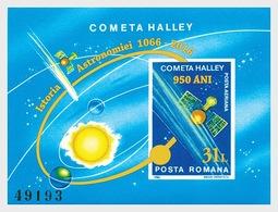 Roumanie Romania Bf 180AA Comète De Halley - Astronomy