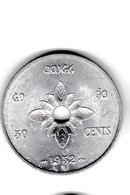 50 CENTS - 1952 - Royaume Du Laos - Très Belle Pièce - Laos