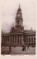 AL55 Portsmouth, Town Hall - RPPC, Animated - Portsmouth