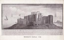 AL55 Sandgate Castle 1735 - England