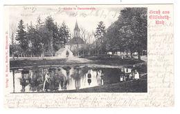 AK Gransee, Gruss Aus Elisabeth- Ruh, Kirche In Dannenwalde, Gel. 1905 - Gransee