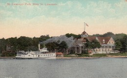 St Lawrence Park , River St Lawrence , 1000 Islands , Ontario , 00-10s - Thousand Islands