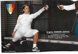 DUMONT - GAPAIS Brigitte - Fencing
