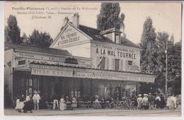 NEUILLY PLAISANCE (93) : A LA CIVETTE DE LA MALTOURNEE - A LA MAL TOURNEE - RESTAURANT GOLTAIS - ECRITE 1908 - 2 SCANS - - Neuilly Plaisance