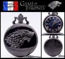 Montre Gousset NEUVE ! ( Pocket Watch ) - GOT Game Of Thrones Maison Stark ( C2 ) - Montres Gousset