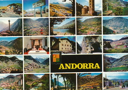 Andorra  Envalira  Radio Multi Vues   Timbrée 1968 - Andorre