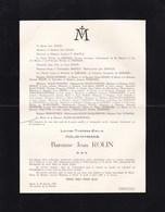 LIEGE VILLE-d'AVRAY Louise ROLIN-HYMANS Baronne Jean ROLIN 1902-1954 Famille De MERODE - Décès