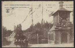 GENT * WERELDTENTOONSTELLING 1913 * WATERVALLEN / LUSTHOF * VERZONDEN 31/8/1913 - Gent