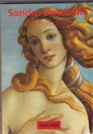 AN92 Art - Postcard Booklet, 30 Works Of Art By Sandro Botticelli - Paintings