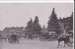 AN92 Hyde Park Corner - Horse Drawn Carriages, C1905 Postcard - London