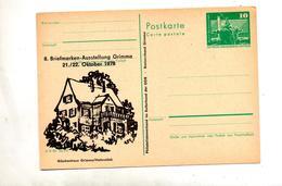 Carte Postale 10 Berlin Rue Illustré Grimma - [6] République Démocratique