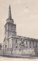 AN92 Daventry Church - C1905 Postcard - Northamptonshire