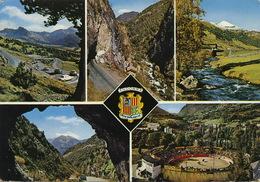 Andorra  Envalira Massana Ingles Escaldes Corrida Plaza De Toros  Timbrée 1970 - Andorre