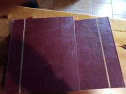 2 ALBUM DI NORVEGIA DAL 1855 AL 2010 CON TASCHINE TRASPARENTI BUONO STATO DI CONSERVAZIONE SHIPMENT ONLY IN ITALY - Album & Raccoglitori