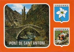 Andorra Massana  Sant Antoni    Timbrée 1984 - Andorra
