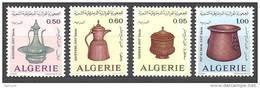1974  Alg. N° 594  à  597  Nf**.  Dinanderie Algérienne - Algérie (1962-...)