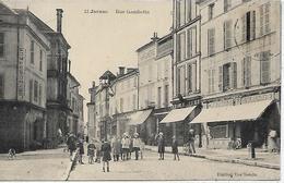 16, Charente, JARNAC, Rue Gambetta, Scan Recto-Verso - Jarnac
