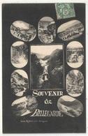 01 - Souvenir De BELLEGARDE - 10 Vues - 1907 - Bellegarde-sur-Valserine