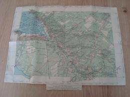 CARTE PAPIER BASSIN D'ARCACHON - Cartes Géographiques