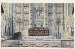 AN13 The Reredos, Truro Cathedral, Cornwall - England