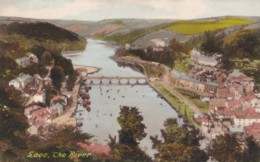 AN13 Looe, The River - Aerial View - England