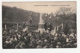 SAINT MARTIN DE MAILLOC - INAUGURATION DU MONUMENT (1922) - 14 - France
