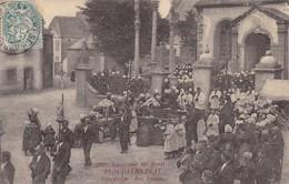 29. PLOUDALMEZEAU. CPA.PROCESSION DES SAINTS. ANNEE 1905 - Ploudalmézeau