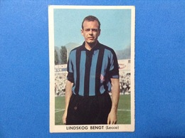 FIGURINA CARTONATA SIDAM IL CALCIO ITALIANO CALCIATORE LINDSKOG BENGT LECCO - Voetbal