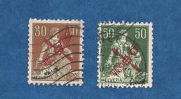 SUISSE- 1919/20 - FAUX -  Cat  Yvert   P A  N° 1 Et 2   Voir Scans - Luftpost