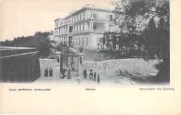 GRECE Greece - CORFOU ( Ville Impériale ) ACHILLEION - CPA Précurseur - Griechenland Griekenland Grecia - Grèce