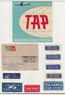 PORTUGAL : TAP . - Étiquettes à Bagages