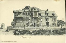 La Panne -- Villa.    (2 Scans) - De Panne