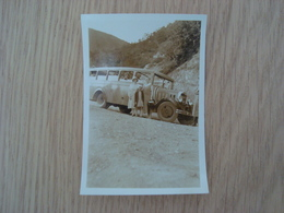 PHOTO VEHICULE  ANCIEN - Cars