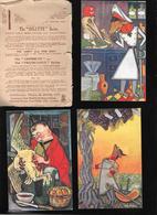 SERIE DE 6 CARTES AVEC POCHETTE ILLUSTREE PAR FRANSISCO SANCHA... - Autres Illustrateurs