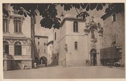 C.P.A. - VENCE - PORTE DE L'EGLISE ET PLACE DE LA MAIRIE - 316 - BRAUN - Vence