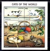 Serie De Lesotho Nº Yvert 1265/70 ** GATOS (CAT) - Lesotho (1966-...)
