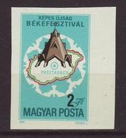 1984. Peace Festival- Imperforate - Ungarn