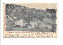 CHAMPÉRY (Vue Générale) 1050 Altitude. - VS Valais