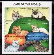 Serie De Lesotho Nº Yvert 1309 ** GATOS (CAT) - Lesotho (1966-...)