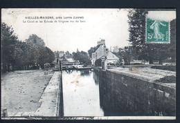 45, Vieilles Maisons, Pres Lorris, Le Canal Et Les Ecluses De Grignon Vus Du Haut - Frankreich